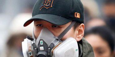 大気汚染対策の特殊マスク
