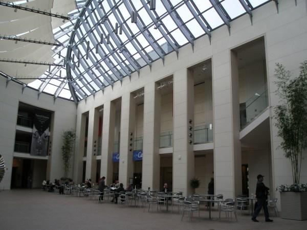 Peabody Essex Museum Atrium Cafe