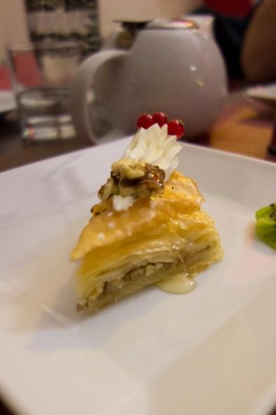 pâtisserie au restaurant égyptien beau reve à nantes