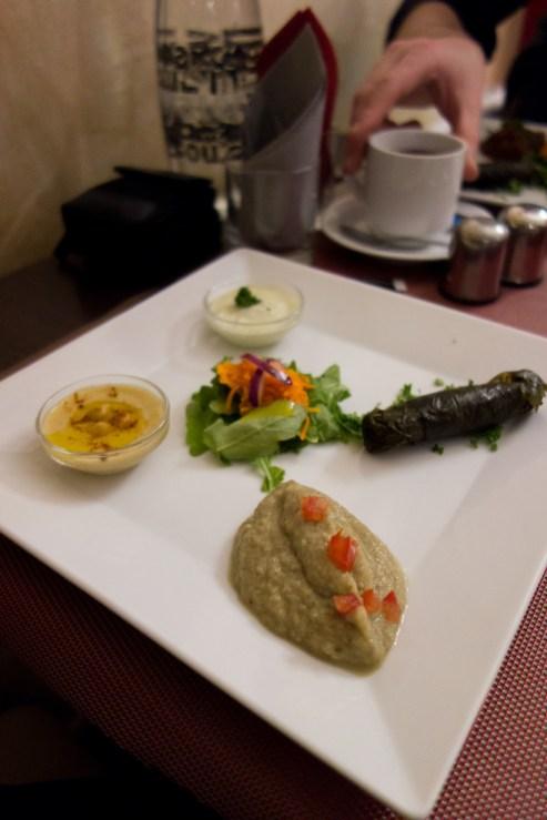 entree restaurant egyptien beau reve à nantes