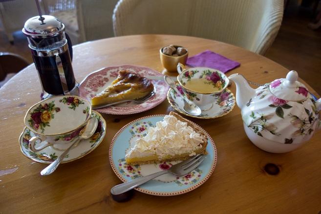 the, café et gâteaux à la louisiade à la baule