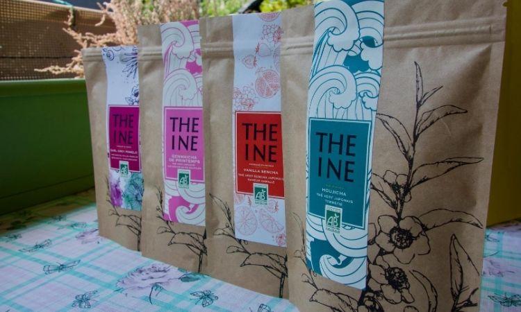 mélanges de thé de Théine
