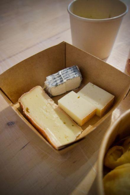 sélection de fromages Maison Frometon et la Crémerie des Carmélites