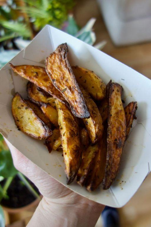 pommes de terre au paprika fumé