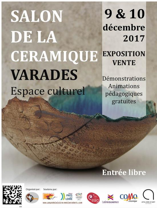 Salon de la cramique  ESPACE ALEXANDRE GAUTIER Varades 44370  Sortir  Nantes  Le Parisien