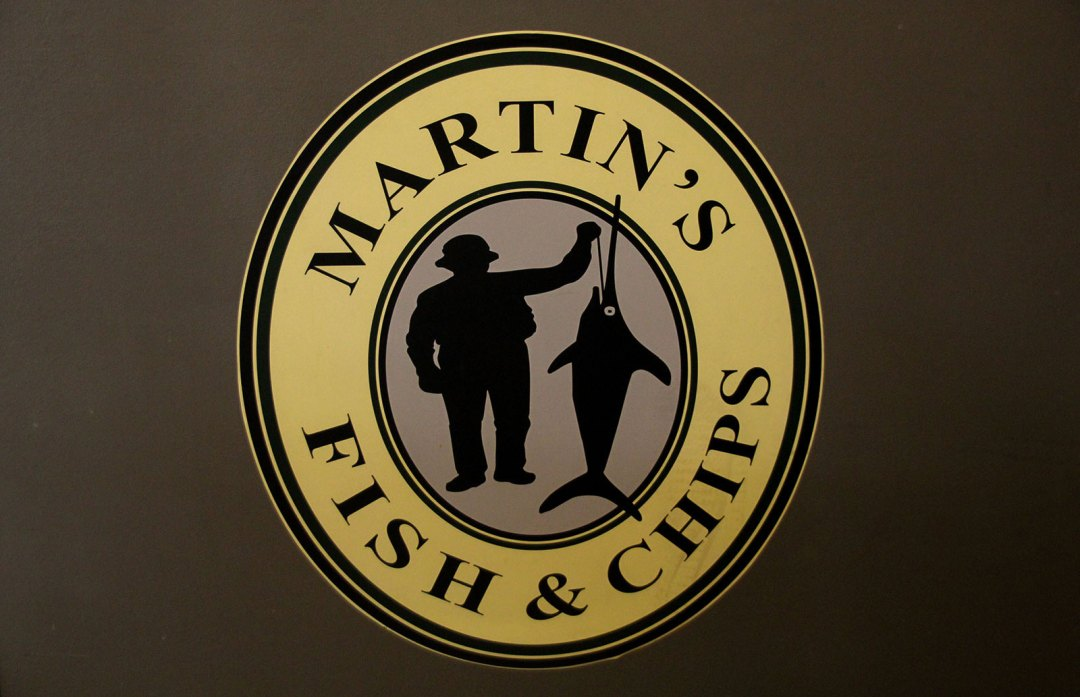 Martin's Fish and Chips Logo