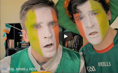 Foil Arms & Hog St. Patrick's Day