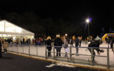 Day 20: Are you ready to get your skates on? The ice rink is here