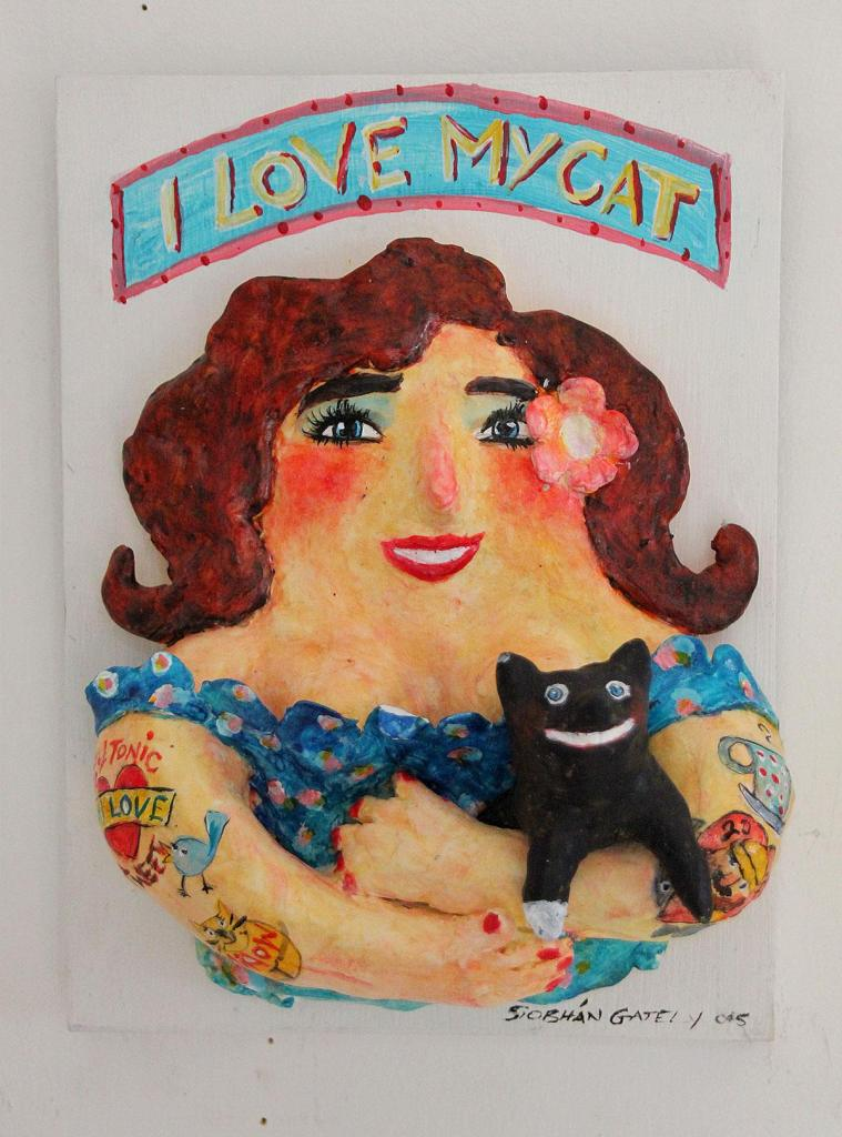 I Love My Cat by Siobhan Gately
