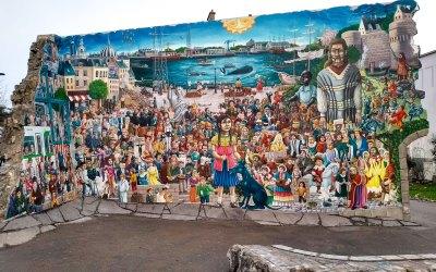 """Day 17: Le Mur """"Tombé du Ciel"""" lives again in Nantes"""
