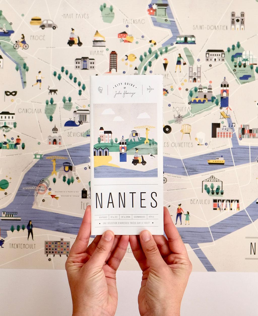 Julie Flamingo City Guide Nantes/