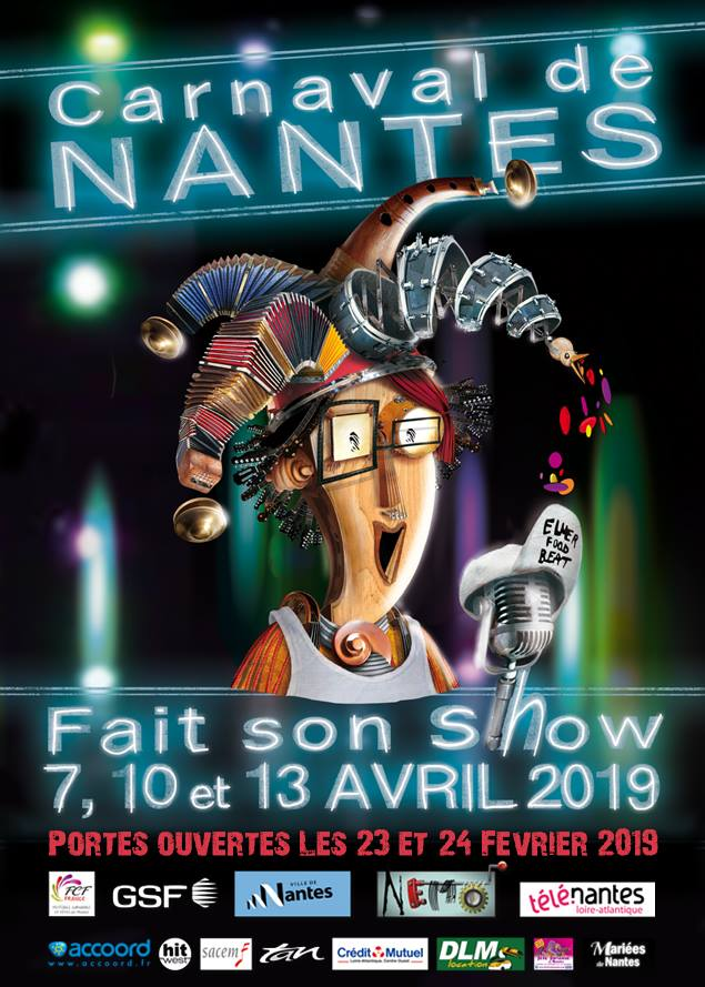 Carnaval de Nantes Workshop Open Day 2019