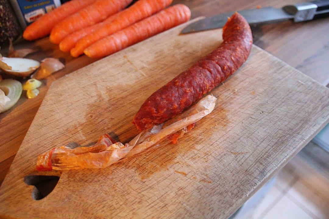 Skin Your Chorizo