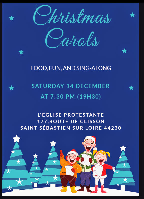 Carols in English in Nantes