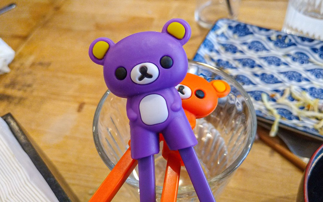 Paku Paku Kids Chopsticks