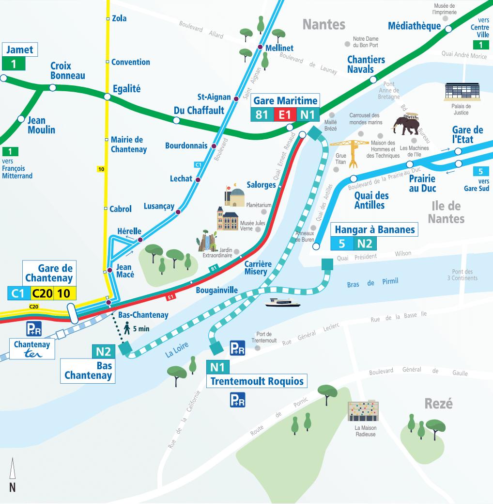 Tan N2 Route