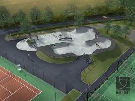 Nouveau skatepark à Saint-Viaud - Loire Atlantique