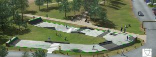 Skatepark - Parc du Loiry à Vertou