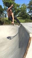 Skatepark Saint-Viaud - Ziad Beranger en crailslide
