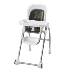 Evenflo Easy Fold High Chair Spool Adjustable Nantucket Baby Hc