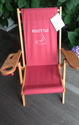 nantucket beach chair company hot pink folding covers monogrammed chairs