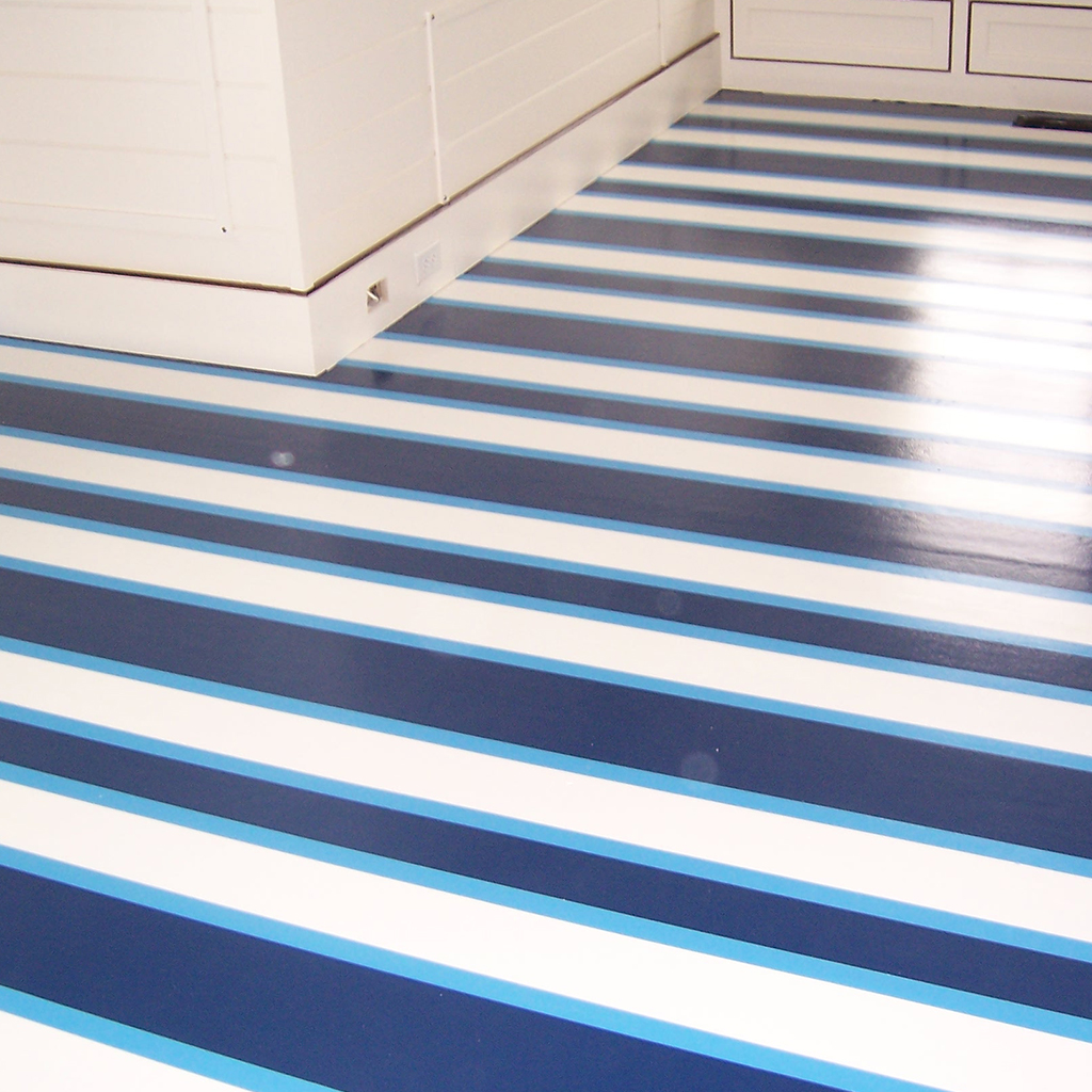 Nantucket Custom Flooring Custom Painted Floor