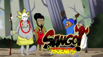 sango and friends