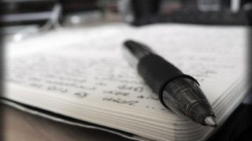 pen and book - writing