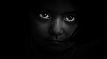 The victim -a little child