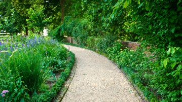 garden walking path