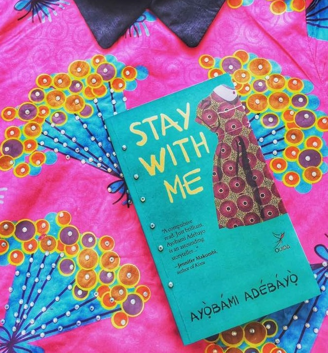 stay with me by ayobami adebayo book cover version