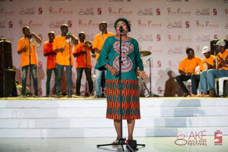 Abeni Salawa at Ake Festival