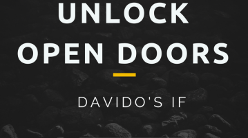 "Unlock Open Doors: Davido's ""IF"" by Samsudeen Alabi"