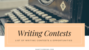 writing contests - nantygreens