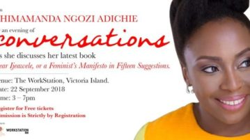 evening with chimamanda adichie