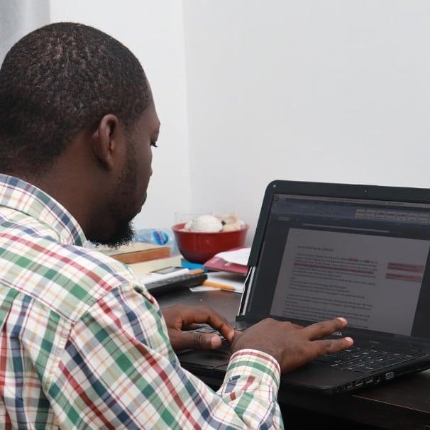 A Pen Pen Africa resident
