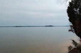 Lake Murray at the trail turnaround