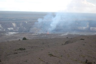 More lava activity