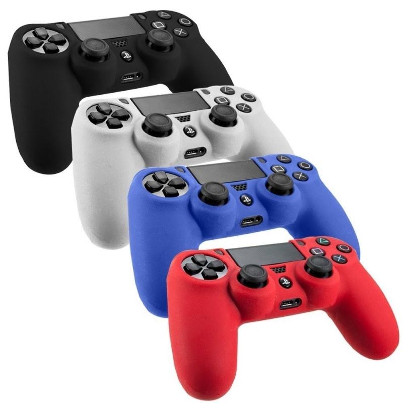 PS4 Forro De Silicona Rojo Control Playstation 4 Mando Ps