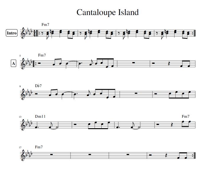 CantaliupeIsland譜面