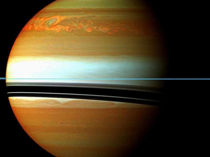 Сатурн во всей красе