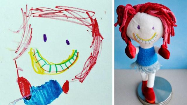 Детское воображение - в жизнь! Материализация детских рисунков