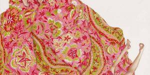 Навсегда потерянные в текстиле: серия автопортретов Моники Рохан