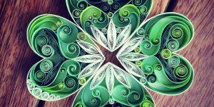 Красочные композиции с применением техники квиллинга Сены Руна