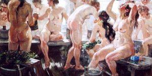 Обнаженка - любимая тема советских художников