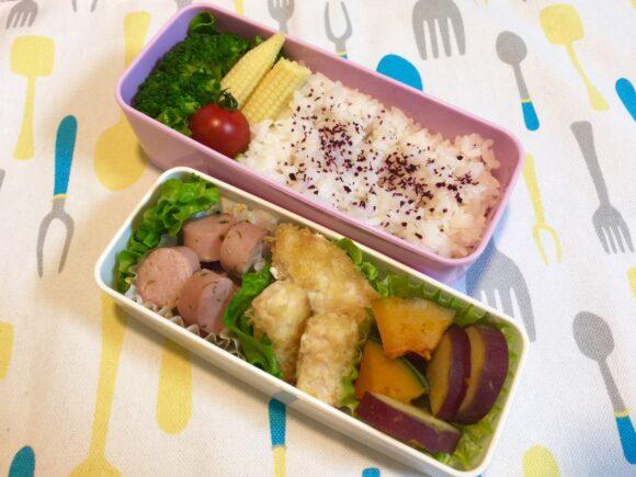お魚メイン弁当 メカジキ 魚肉ソーセージ