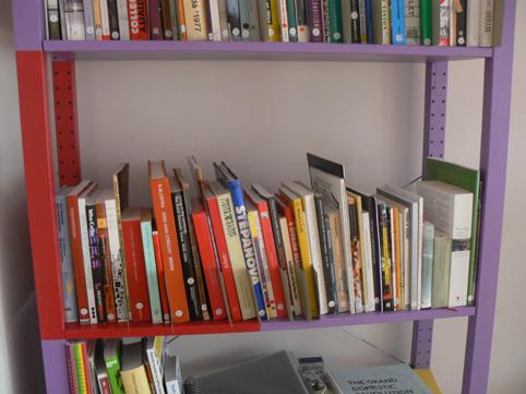 red-bookshelf