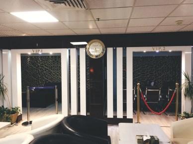 Sala VIP aeroporto de Teerã