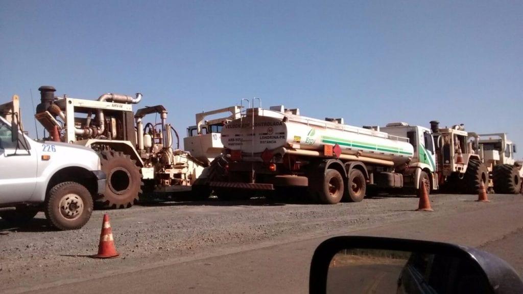 caminhões em Jundiaí do Sul