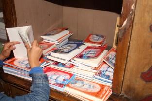 """O livro escolhido pelo pequeno do meio """"Livro de leitura para a 2ª classe"""""""